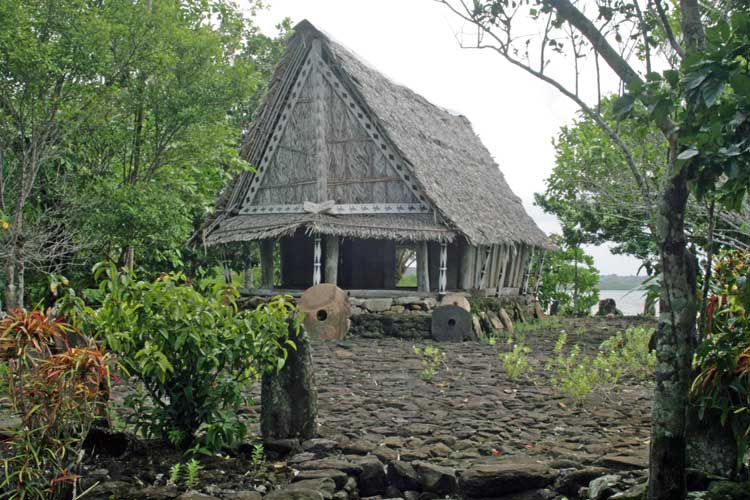 Yap Community House. Photo by Joyce McClure