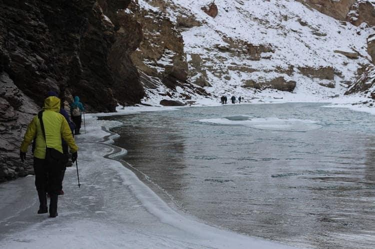 chadar trek at Himalaya