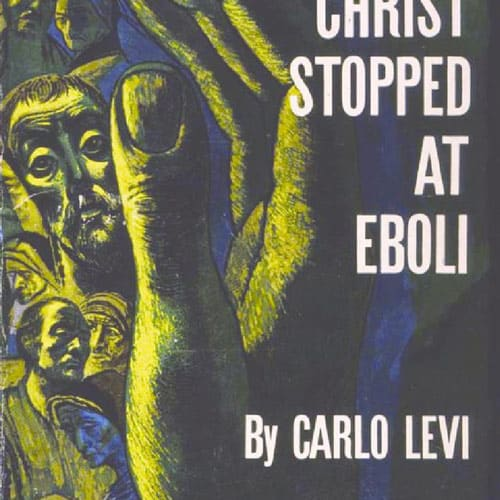 The cover of the Italian book by Carlo Levi.