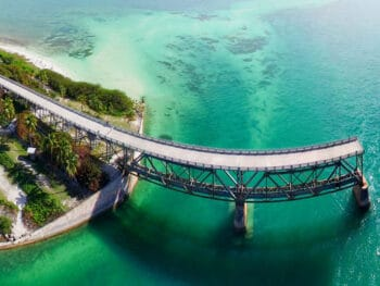 The mysterious Florida Keys bridge.