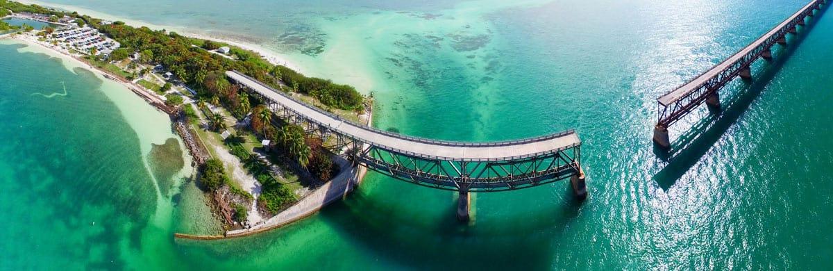 The mysterious Florida Keys bridge.