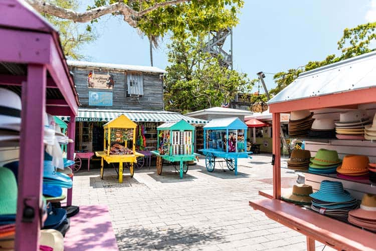 Get in the spirit of the Florida sunshine and bold colors by going shopping in the Keys.