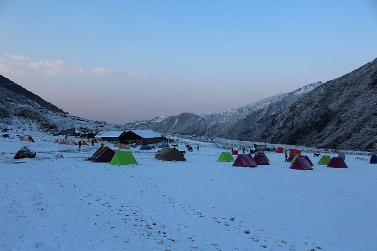 goechala trek of Himalaya