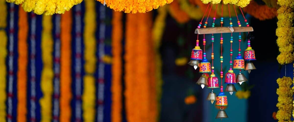 India is filled with color and spirit.