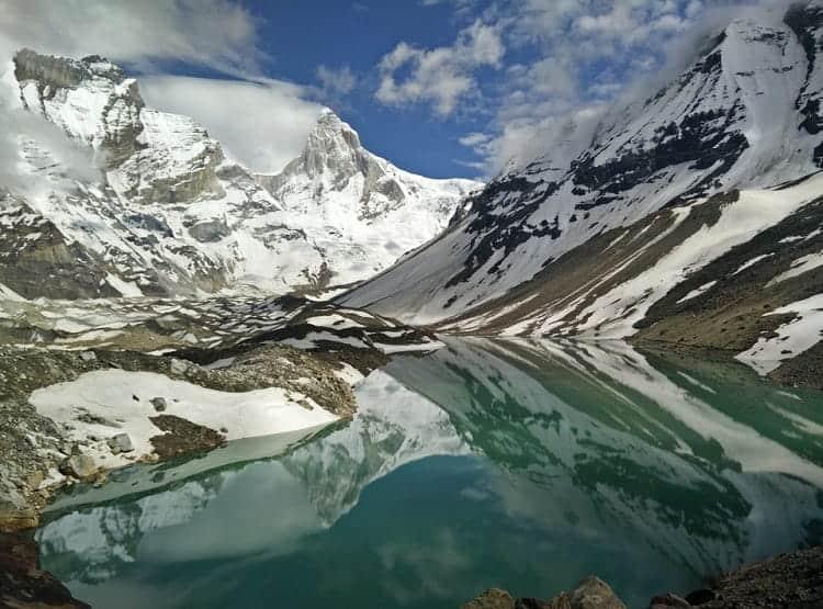 kedar-taal at Himalaya