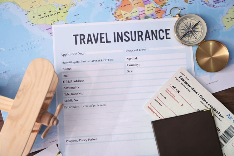 There are many options for travel insurance
