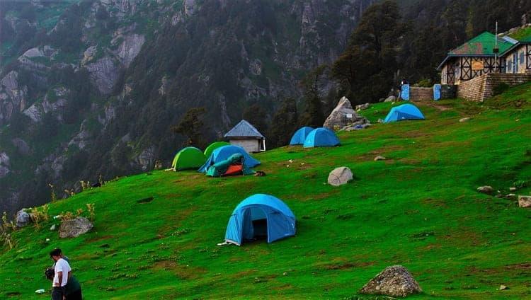 triund trek at Himalaya