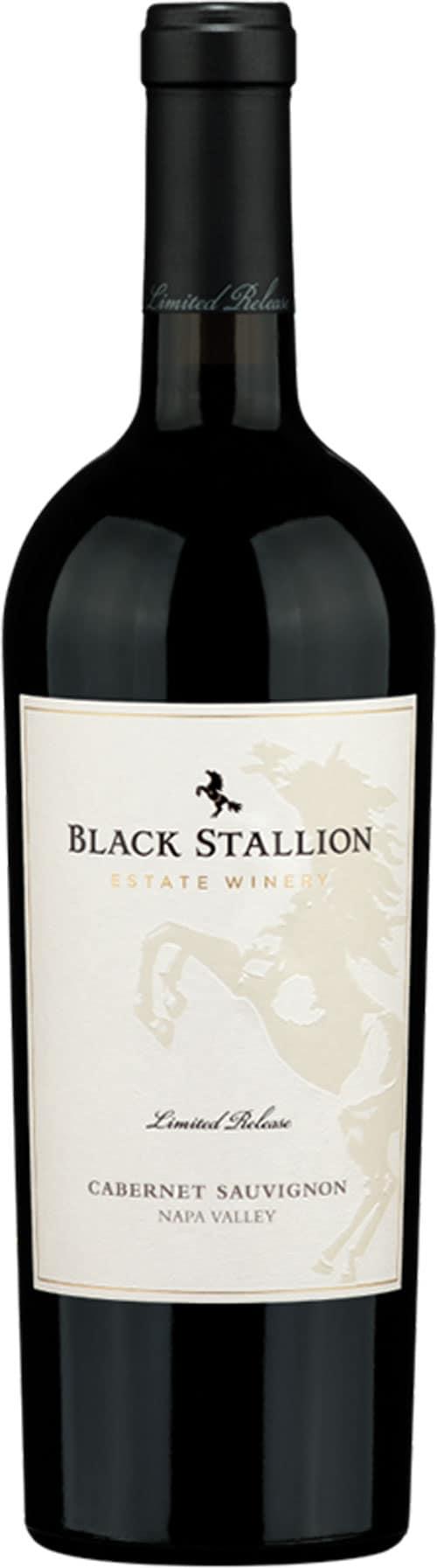 The Black Stallion limited release bottle.