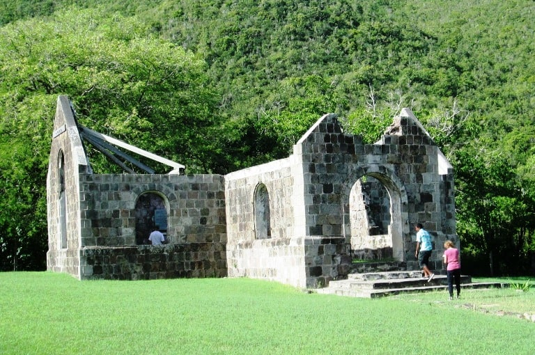Nevis Island's Cottle Church has an inspirational tale to tell. Photo by Fyllis Hockman