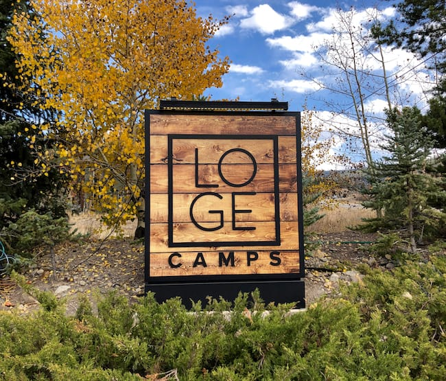 LOGE Camp in Breckenridge. Photo by Claudia Carbone