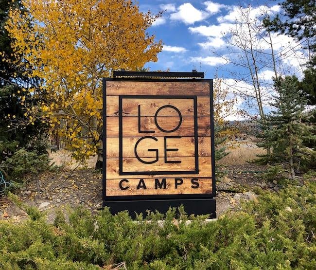 LOGE Camp in Breckenridge. Photo by Claudia Carbone