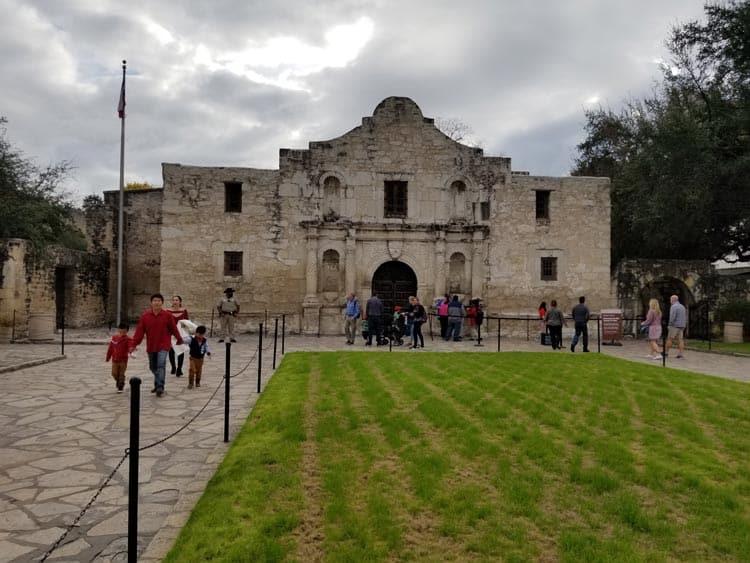 The Alamo is a top attraction in San Antonio