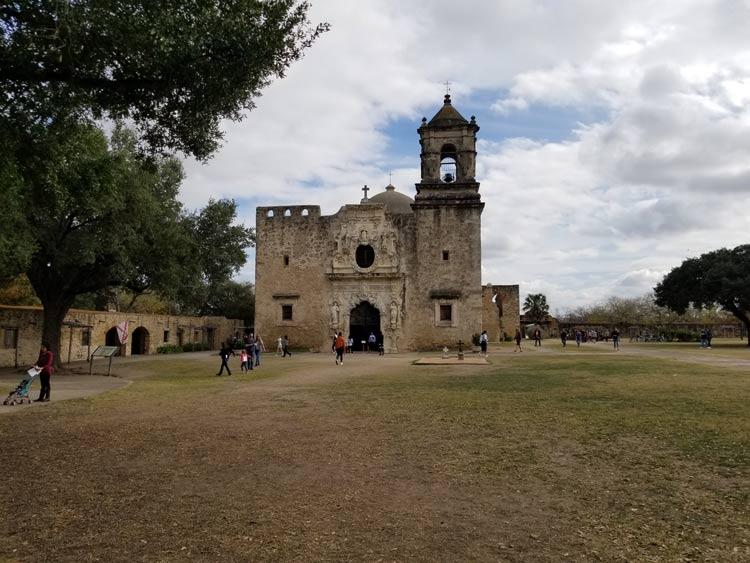 Mission San Jose in San Antonio.