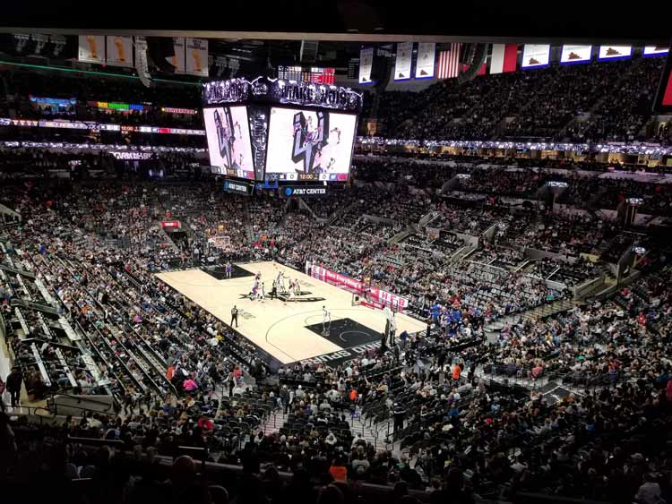 Catch a Spurs game in town.
