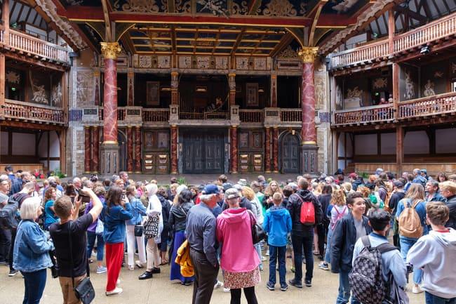A faithful reproduction of the original Globe Theatre. Photo by Kmiragaya/Dreamstime.com