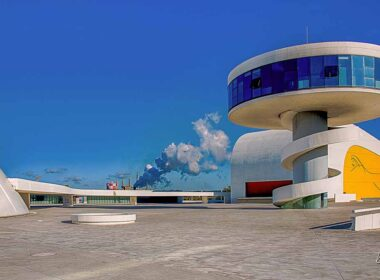 Oscar Niemeyer International Cultural Centre in Avilés, Spain.