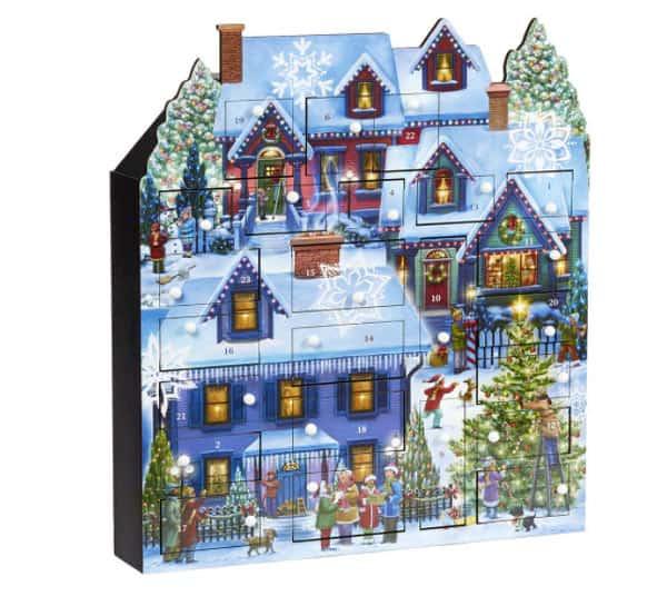 Vermont Christmas Company Traditional Winter Box Calendar