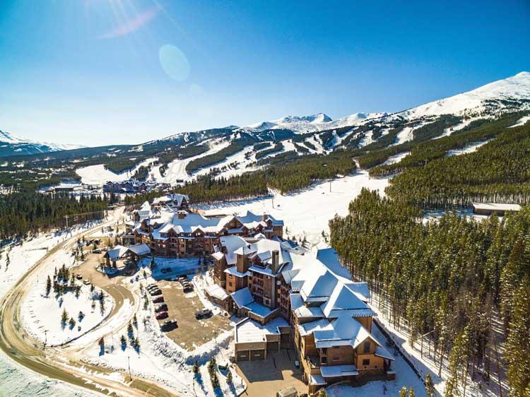 Breckenridge Ski Resort in Colorado