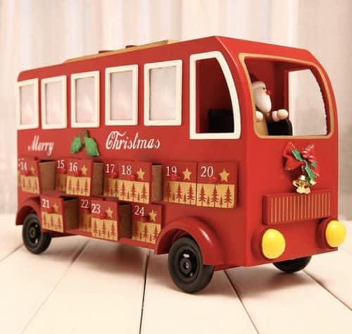 HizoeChu Santa Bus Advent Calendar