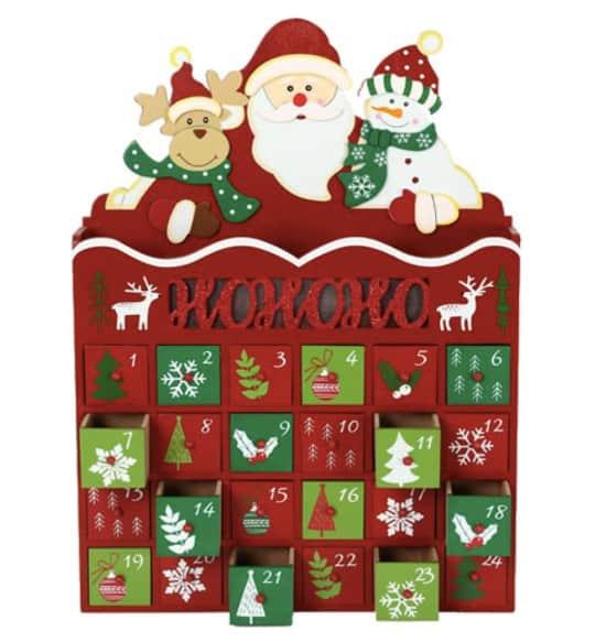 Pioneer-Effort Santa's Helpers Calendar