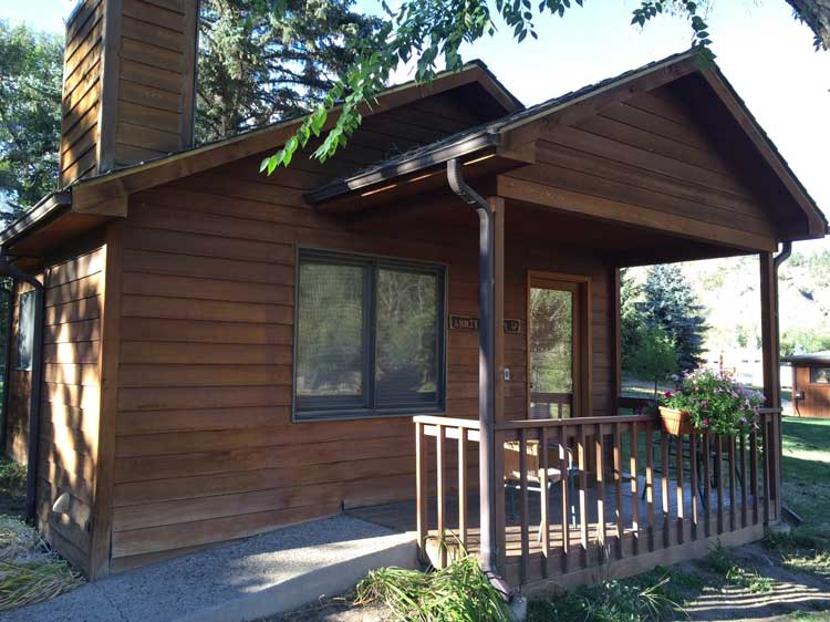 Choose from small cabins to larger lodges to fit your family or group.