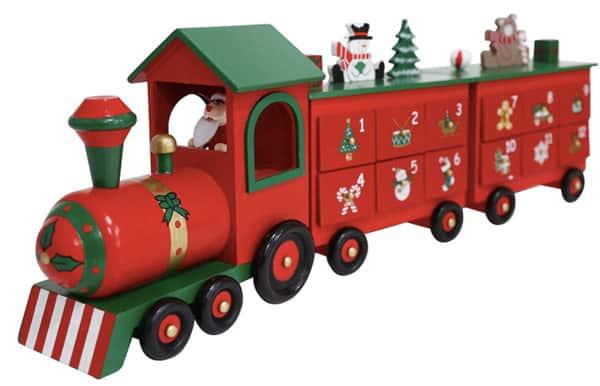 Pioneer-Effort Holiday Train Calendar