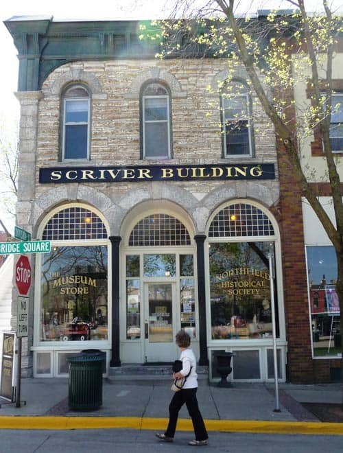 The Scriver building.