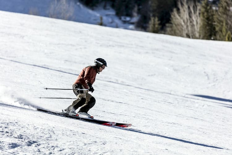 Skiing will have a lot of space per safety measures