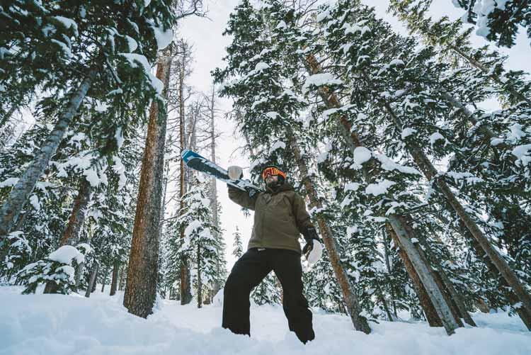 Skier at Winter Park Resort in Colorado