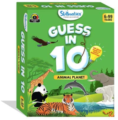 Animal guessing card game by Animal Planet