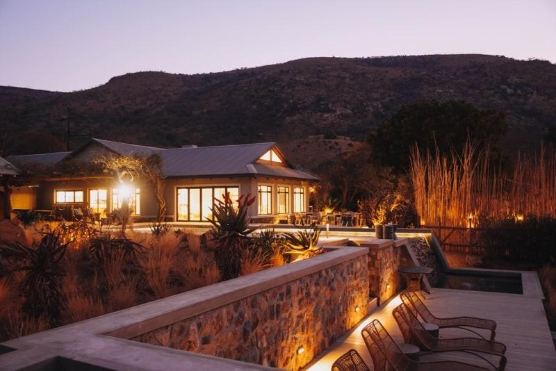 Babanango Valley Lodge, evening. Photo supplied