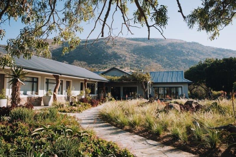 Babanango Valley Lodge exterior. Photo supplied.