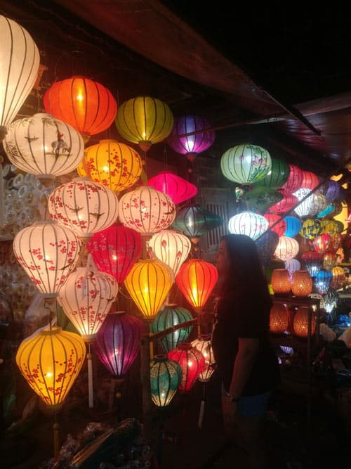 The beautiful city of lanterns in Hoi An