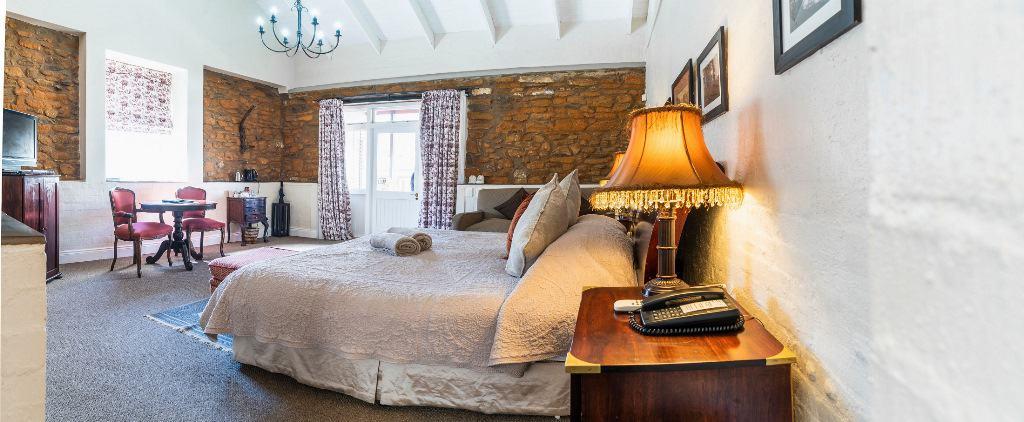 Fordoun luxury room. Photo courtesy of Fordoun