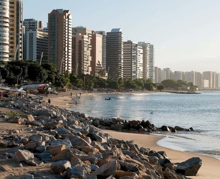 Enjoy the beautiful calm nature far from the town in Fortaleza beach.