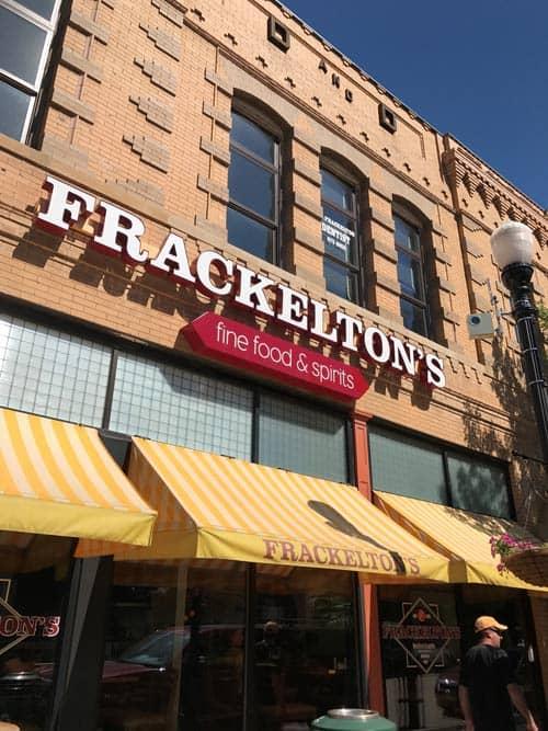 Shop at Frackelton's in Sheridan, Wyoming.
