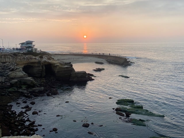 Sunset La Jolla Cove