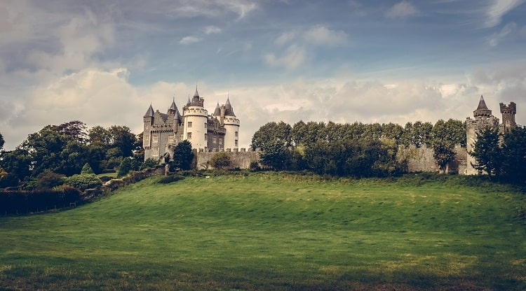 Killyleagh Castle in Northern Ireland