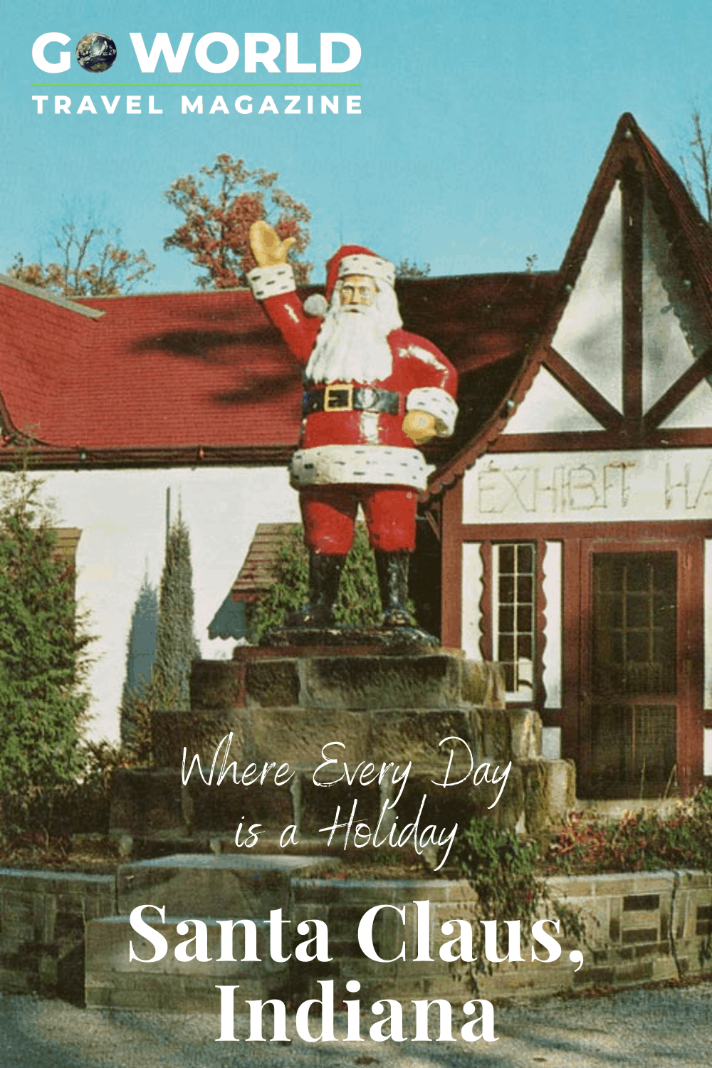 Santa Claus, Indiana where every day is a holiday #santaclausindiana #santaclaus #indianaholidays #holidayworldsantaclausindiana #thingstodoinsantaclausindiana #goworldtravel