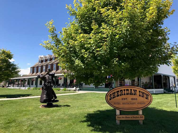 The Sheridan Inn in Wyoming.