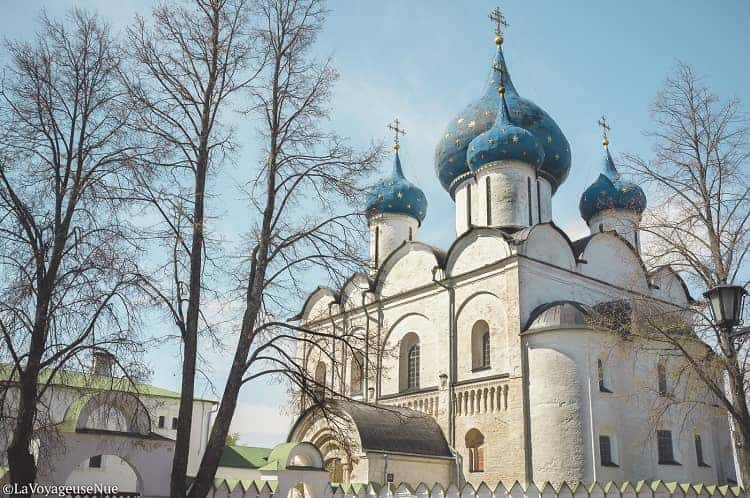 Suzdal is full of churches and monasteries. Photo Courtesy: Author Yaara Ros