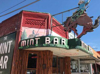 The Mint Bar in Sheridan, Wyoming.