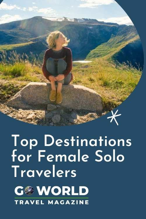 Top destinations for female solo travelers