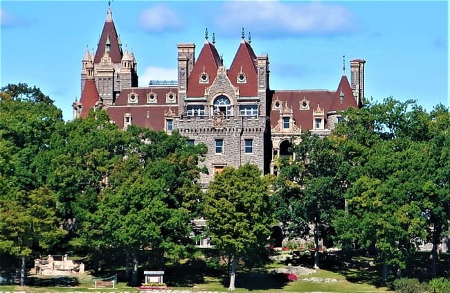Boldt Castle along the Empire State Road Trip route was built for love.  Photo by Victor Block