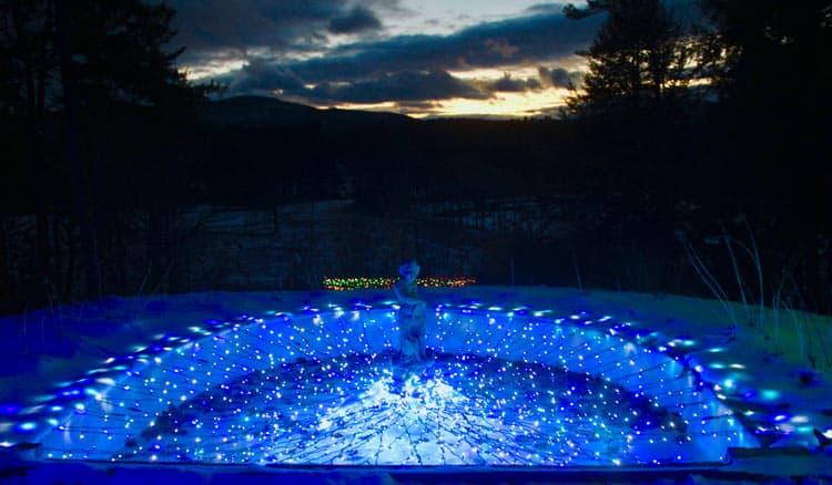 Winter Lights at Naumkeag