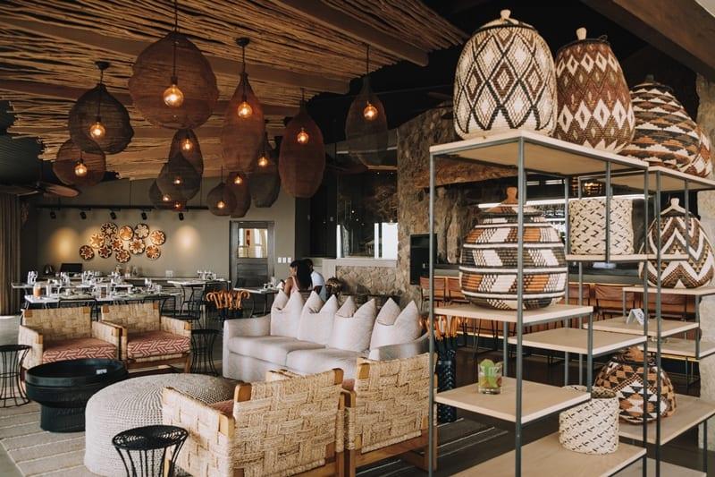 Zulu Rock Lodge- main lodge interior. Photo supplied.