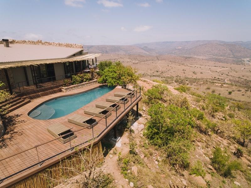Babanango Zulu Rock main lodge. Photo supplied