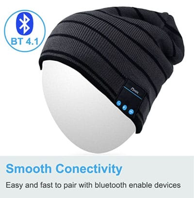 One style of the music boasting beanie