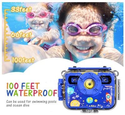 Durable digital camera for kids
