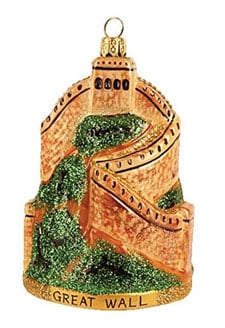 Great Wall of china ornament